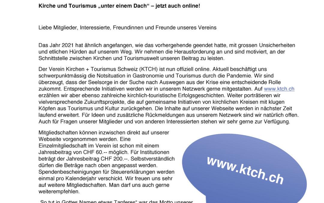 KTCH jetzt auch online